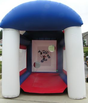 Rent our Sports Cage for your next birthday party. Parties N Motion is located in Jacksonville, FL and rents to the surrounding areas.