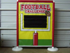 Football Challenge is available to rent through our party rentals throughout Clay County PA