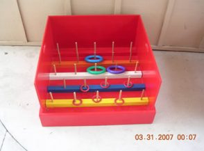 Ring toss is available to rent through our party game rentals.