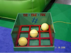 Tic Tac Toe is available to rent through our party game rentals throughout Clay County FL