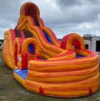 fire island inflatable 31 Ft Long x 13 Ft Wide x 21 Ft High