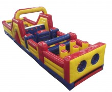 38 ft X 12 Wide Obstacle Course