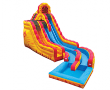 Fire & Ice Wet Slide
