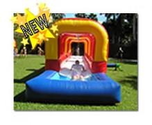 Slip-N-Slide with Pool
