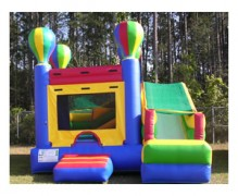3-In-1 Hot Air Balloon Bounce House