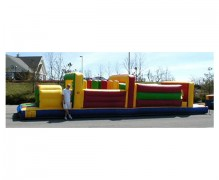 38 Ft x 14 Wide Obstacle Course
