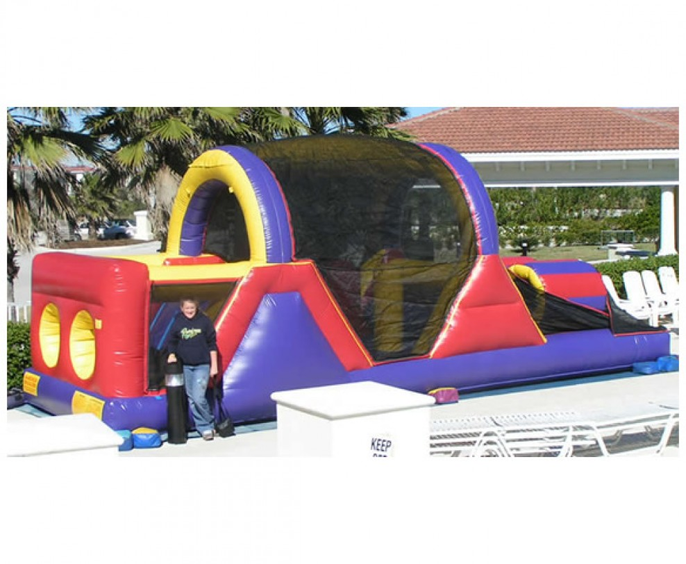 obstacle courses mobile parties n motion bounce house