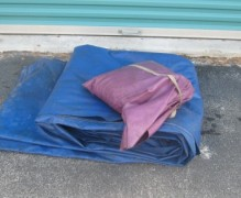 Tarp & Sand Bags