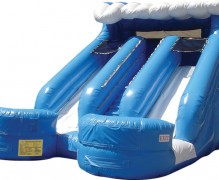 Double Splash Water Slide